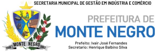 Prefeitura Municipal de Monte Negro e Secretaria de Indústria e Comércio de Monte Negro resgatando vínculo com o comércio local.