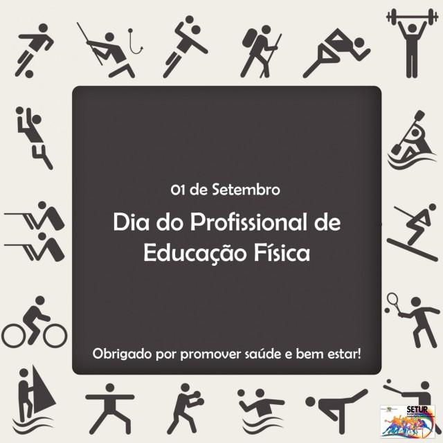 01 de setembro – Dia do Profissional de Educação Física